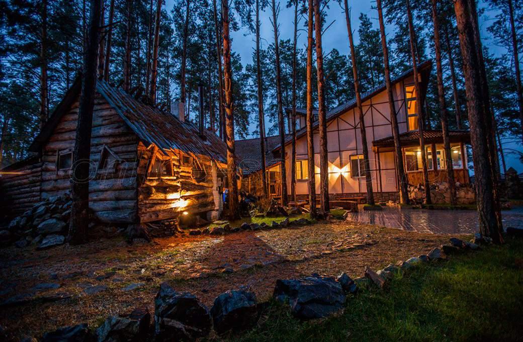 Сибирская вилла, гостевой дом
