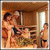 Посещение бани (сауны) детьми