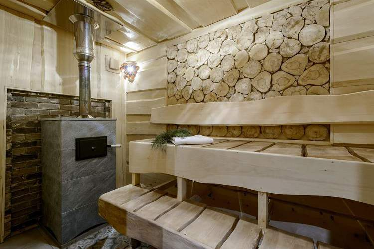 Сибирский характер, банный дом